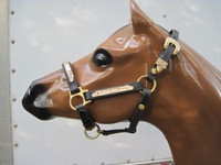#403   Performance/stock Show Halters - Gold