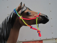 R-240   Multi Color Rope Halters
