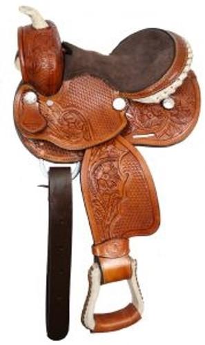 """#396-286  Western Saddle 10"""" seat"""
