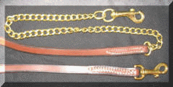 #250  Russet Leather Lead
