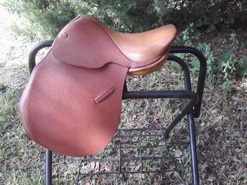 """#396-E   English All Purpose Saddle 11"""""""