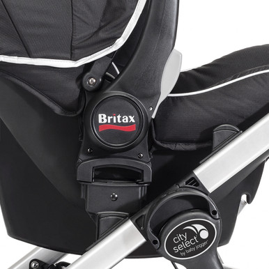 city select stroller britax b safe car seat adapter by baby jogger city select strollers. Black Bedroom Furniture Sets. Home Design Ideas