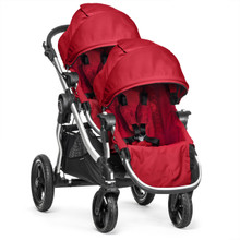Baby Jogger City Select Double Stroller 2016 in Ruby - SHIPS NOW