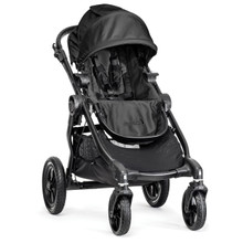 City Select Stroller Black with Black Frame 2016