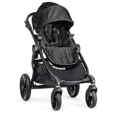 City Select Stroller Black with Black Frame 2016