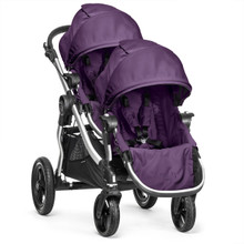 Baby Jogger City Select Double Stroller 2016 in Amethyst - SHIPS NOW