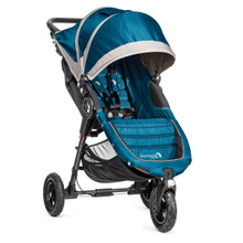 Baby Jogger City Mini GT Single Stroller 2017 in Teal/Gray - SHIPS NOW