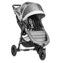 Baby Jogger City Mini GT Single Stroller 2017 in Steel Gray - SHIPS NOW