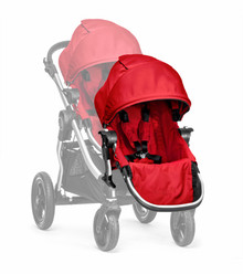 Baby Jogger City Select Second Seat Kit in Red w/ Black Frame
