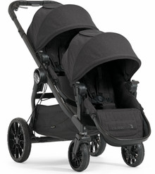 Baby Jogger City Select LUX Double Stroller 2017 in Granite Black - Ships Now!!!