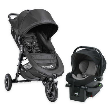 Baby Jogger 2017 City Mini GT Travel System in Black (Stroller, Car ...