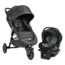 Baby Jogger 2017 City Mini GT Travel System in Black (Stroller, Car Seat and Car Seat Adapter - SHIPS NOW