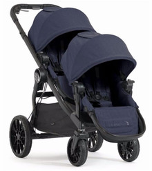 Baby Jogger City Select LUX Double Stroller 2017 in Indigo Blue - Ships NOW!!!