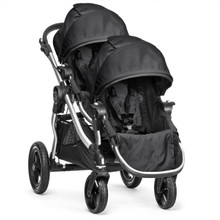 Baby Jogger City Select Double Stroller 2016 in Onyx Black - SHIPS NOW - OPEN BOX