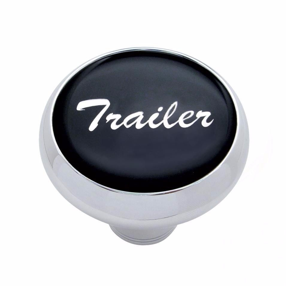 Deluxe knob trailer Black sticker screw-on air valve Freightliner Peterbilt