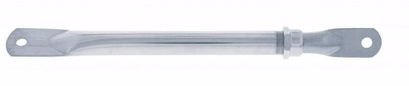 "Heavy Duty Nickle Chrome Mirror Bracket Telescoping Arm (10-14"")"