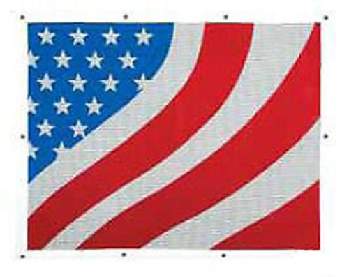 American Flag Bug Screen - FREIGHTLINER CENTURY