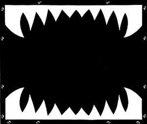 Shark Teeth Bug Screen - FREIGHTLINER FLD 120/ FLD CLASSIC -1996 to present
