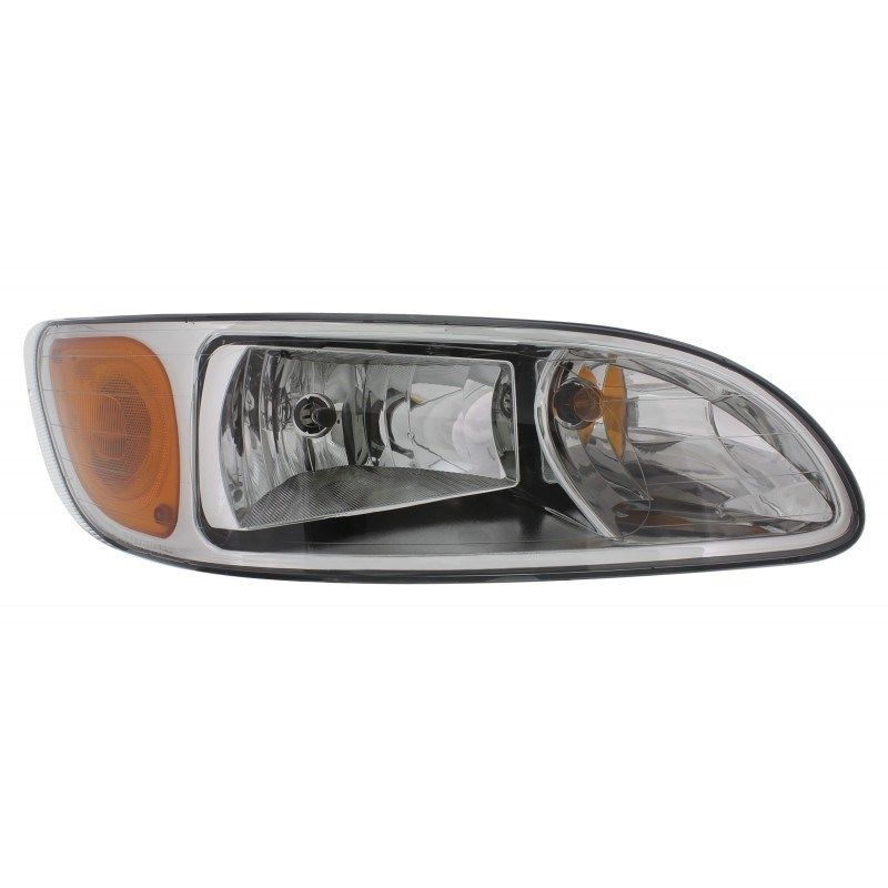 Headlight for Peterbilt 2008 & Newer 386/387 Trucks, R/H Passenger Side