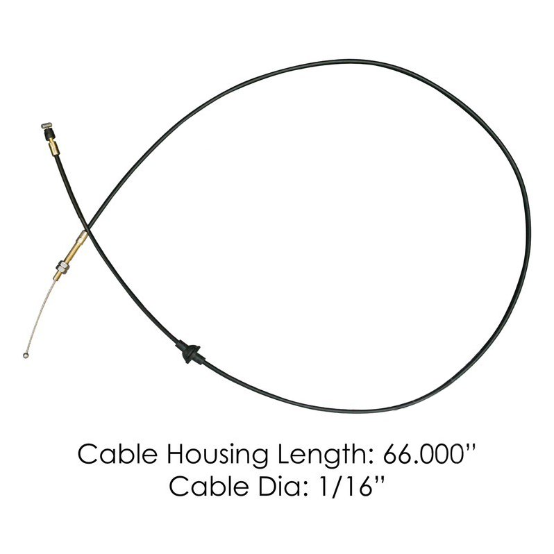 Volvo Hood Release Cable for All VN Models Gen1 & Gen2  #20462437