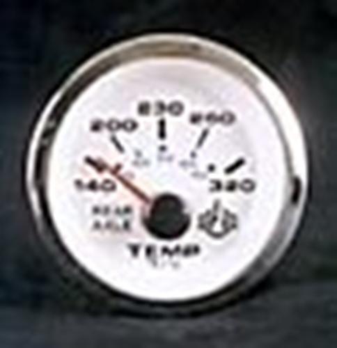 "Analog 320 Degree for Rear Differential Temp Gauge (2"" Diameter) Telex 64650"