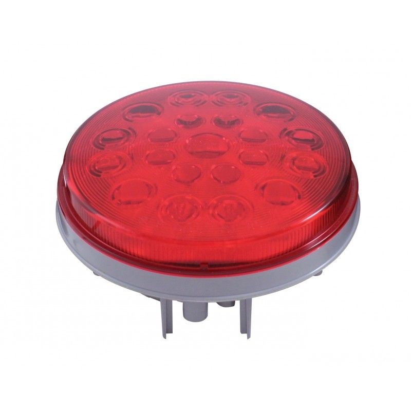 """LED 4"""" Stop Turn Tail Lamp 21 LEDs Competition Series Super Light"""