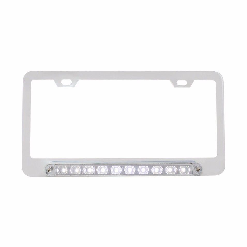 Chrome Deluxe LED License Plate Frame