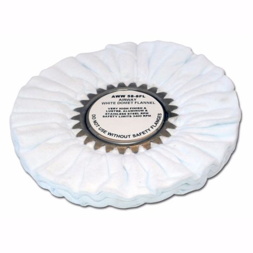 "Zephyr 8"" White - Final Finish Wheel (Un-treated)"