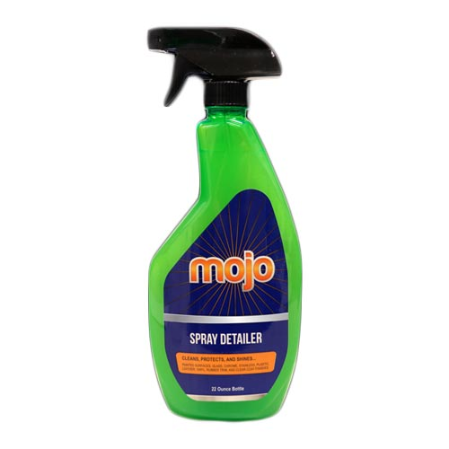 Mojo Spray Detailer - Cleans, shines & protects all vehicle surfaces, 22 Ounces