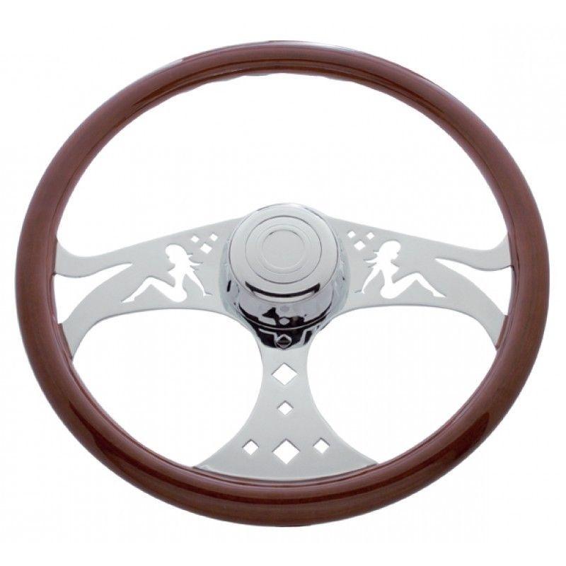 "18"" Lady steering wheel for Freightliner 1989 - July 2006"