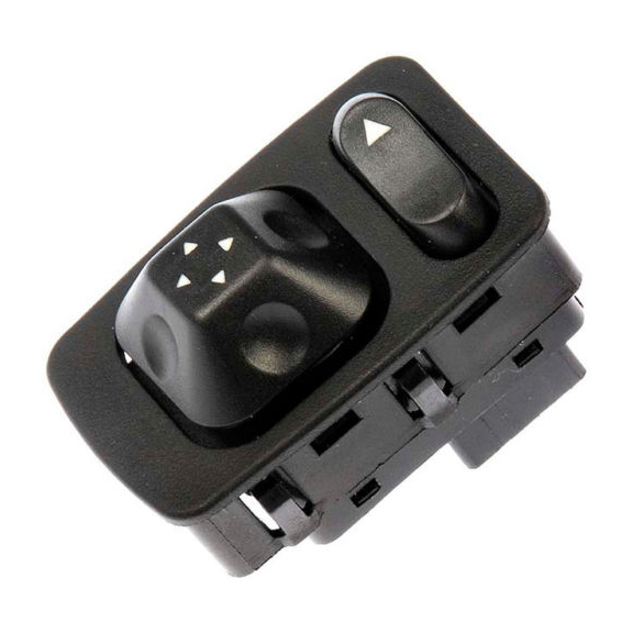 Power Mirror Switch with Chrome Trim Cover for Freightliner FLC Century