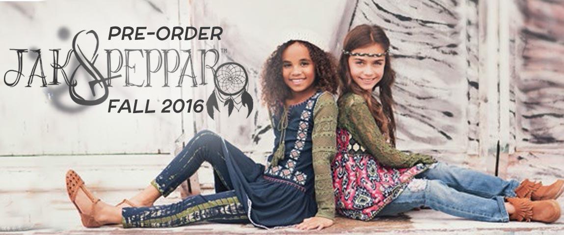 Jak & Peppar Fall 2016 Pre-Orders