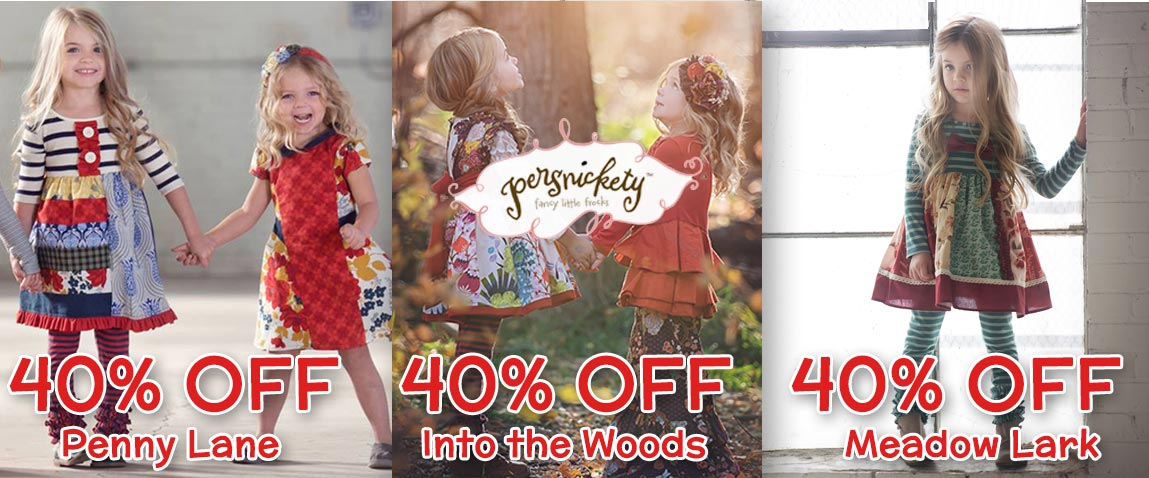 Persnickety Fall 2015 Sale