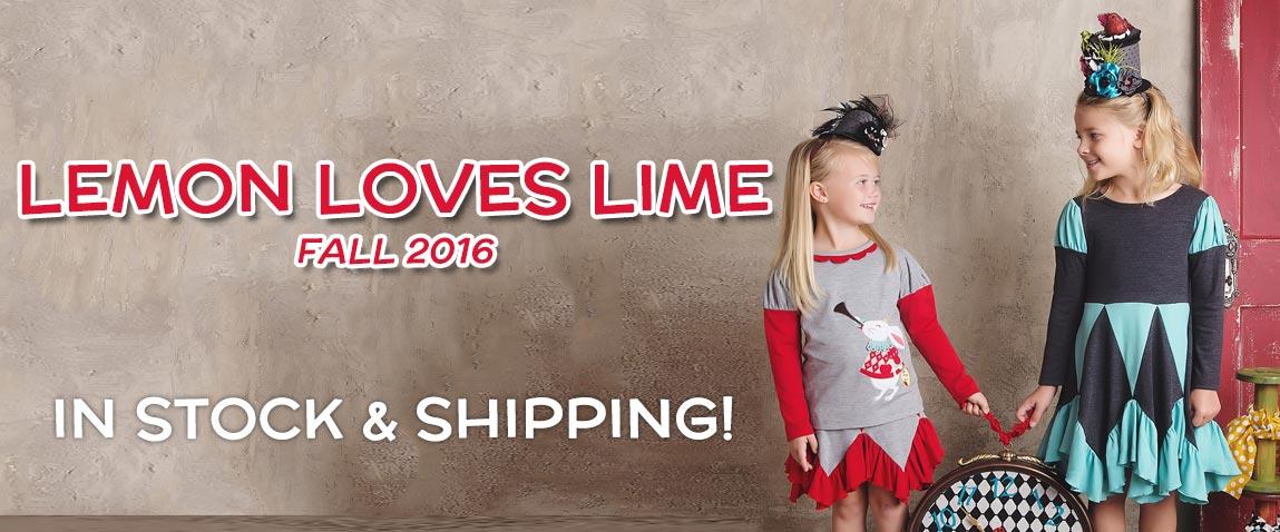 Lemon Loves Lime Fall 2016 Pre-Orders