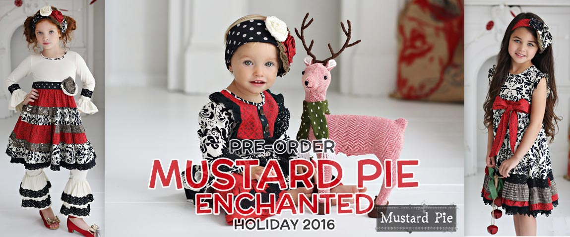 Mustard Pie Enchanted Holiday 2016