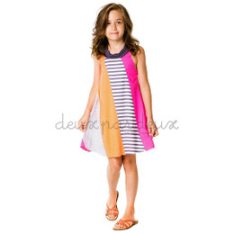 Deux Par Deux Eye on Fashion Sundress - Multi