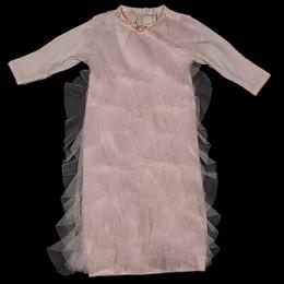 Biscotti Baby Biscotti Rolling In Ruffles Newborn Gown - Pink