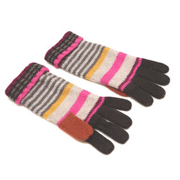 Catimini Spirit Denim Gloves - Ebene