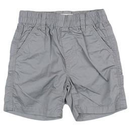Deux Par Deux Mr. Fix-It Boys Bermuda Short - Frost Gray