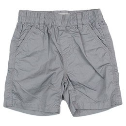Deux Par Deux Mr. Fix-It Boys Bermuda Short - Frost Gray