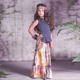 Jak & Peppar Woodstock 2N1 Maxi Skirt / Dress - Tie Dye (D2)