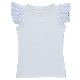 Persnickety Forget Me Not Everly Top - White