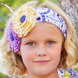 Giggle Moon Heaven Sent Floral Headwrap