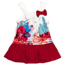 Catimini Spirit Ethnique Dress - Rose Indien