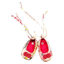 Catimini Spirit Graphic Crib Shoes - Camelia