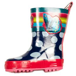 Catimini Spirit Graphic Rainboots - Encre