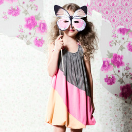 Deux Par Deux Miss Butterfly Balloon Dress