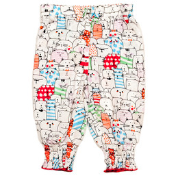 Deux Par Deux Catwalk Loose Cut Printed Pants