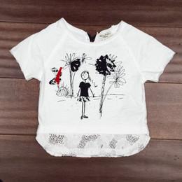 Eliane Et Lena Dim Dam Dom Zoe T-Shirt - White