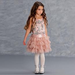 Biscotti Filigree Flutter Dress - Cocoa